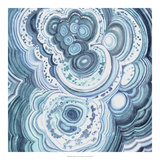 Blue Malachite II *Exclusive* Giclée par Julie Silver