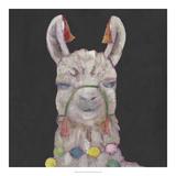 Noble Llama I *Exclusive* Giclée par Julie Silver