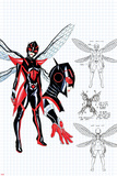All-New  All-Different Avengers No 9 Cover Art Featuring: Wasp