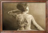 Portrait of a Tattooed Woman  C1895