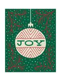 Jolly Holiday Ornaments Joy