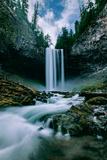 Amazing Mount Hood Waterfall  Tamanawas Falls  National Forest Oregon