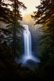 Magical and Dreamy Salt Creek Falls Wiliamette National Forest  Oregon Wilderness
