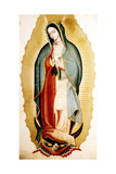 The Virgin of Guadalupe  Museo de America  Madrid  Spain