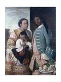 Mestizaje: de Chino Cambujo E India: Loba  1763  Museo de América  Madrid