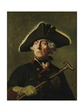 Vintage Painting of Frederick the Great of Prussia