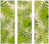 Havana Tropical Wall Triptych