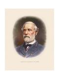 Civil War Artwork of Confederate General Robert E Lee