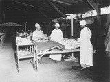 Surgical Ward Treatment at the 268th Station Hospital in New Guinea  June 1944