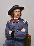 Civil War Portrait of Major General George Armstrong Custer