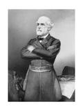 Three-Quarter Portrait of Confederate General Robert E Lee