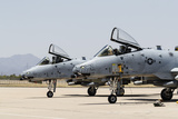 US Air Force A-10 Thunderbolt Ii Aircraft at Davis Monthan Air Force Base