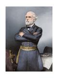 Confederate General Robert E Lee in Blue Uniform