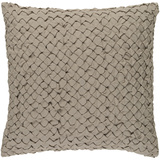 Ashlar Down Fill Pillow - Taupe