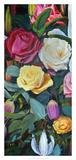 Baroque Flower Triptych II