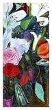 Baroque Flower Triptych III