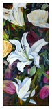 Baroque Flower Triptych I