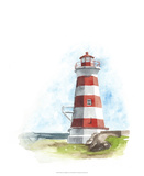Watercolor Lighthouse I
