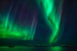 Aurora Borealis or Northern Lights  Stykkisholmur  Snaefellsnes Peninsula  Iceland