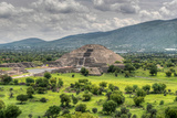 The Ancient Pyramid of the Moon the Second Largest Pyramid in Teotihuacan  Mexico