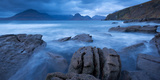 The Cuillin Mountains from the Coast at Elgol  Isle of Skye  Scotland Autumn 2012