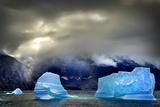 Arctic Sea Ice  Karrat Fjord  Greenland  Denmark