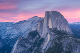 Half Dome at Sunset from Glacier Point  Yosemite National Park  California  USA Spring 2016