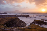 Stormy Evening on the Coast of Achill Island  County Mayo  Ireland