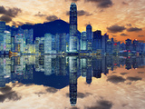 Skyline of Hong Kong Island