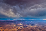 Storm Clouds at Green River Overlook  Canyonlands National Park  Utah  Island in the Sky District