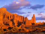 Fisher Towers at Sunset Blm Southeast Utah