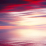 Abstract Sunrise Seascape Background