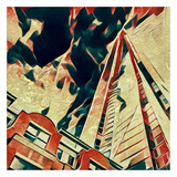 Distorted city scene 26