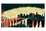 Distorted city scene 14