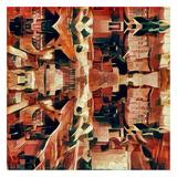 Distorted city scene 31