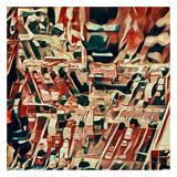 Distorted city scene 34
