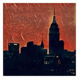 Distorted city scene 27
