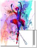 Ballerina's Dance Watercolor 3