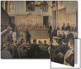 The Panama Trial  Illustration from 'Le Petit Journal: Supplement Illustre'  2nd January 1898