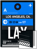 LAX Los Angeles Luggage Tag 3