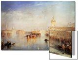 The Dogana  San Giorgio  Citella  from the Steps of the Europa  Venice  1842