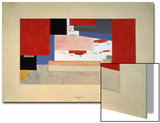 Suprematism (Sketch for a Curtain)  1919
