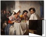 In a Roman Osteria  1866