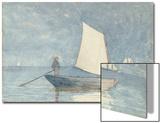 Sailing a Dory  1880