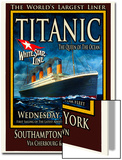 Titanic White Star Line Travel Poster 2