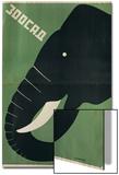 Poster for the Leningrad Zoo  1928