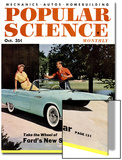 Front cover of Popular Science Magazine: October 1  1950