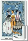 Les Trois Graces, 1918 (Colour Litho) Acrylique par Georges Barbier