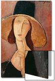 Portrait of a Woman (Jeanne Hebuterne) in Large Hat  c1918