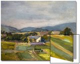 Landschaft in North Austria  1907